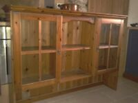 Pine unit, dresser top, display or bookcase, shabby chic project?