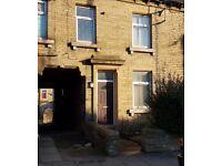 2 BEDROOM HOUSE TO LET FOR RENT BRADFORD BD8 GIRLINGTON - AGAR STREET BD8 9QL