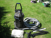 Oase Pond Vacum with hoses and accessories.