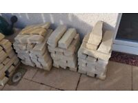 Cottagestone - Golden Fossil Bricks