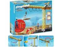 Playmobil Crane City Action 5466 £50 Store is £90 New Great Xmas Present
