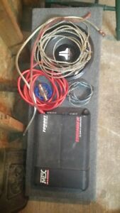 Sub and amp for sale
