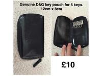 Genuine D&G key pouch