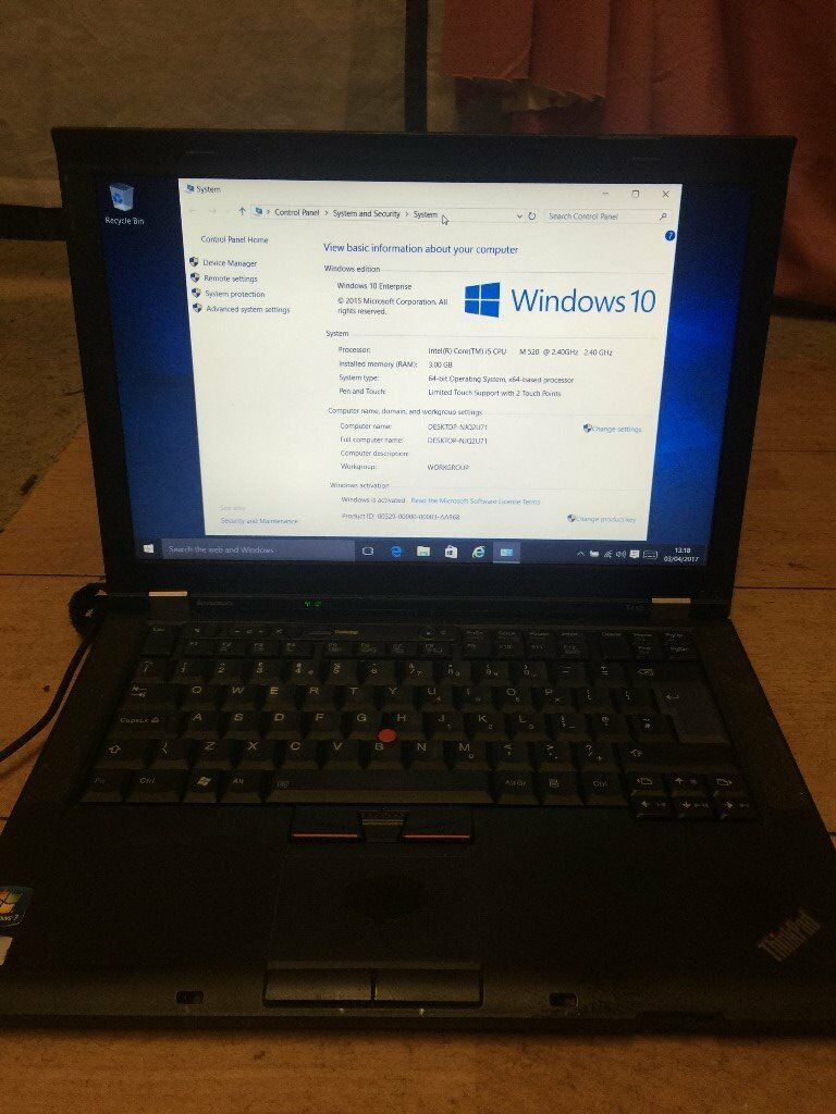 LENEVO T410 LAPTOP-POWER & FAST-CORE I5-500 GIG-OFFICE 2013-USED FOR 2 YEARS-HDMI-DVD-FREE DELIVERY