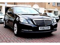 MERCEDES E220 CDI SE AUTOMATIC BLUE-EFF 4 DR SALOON FSH HPI CLEAR 2 KEYS EXCELLENT CONDITION