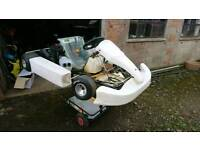 Venom TKM 100cc Kart and trolley