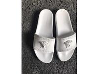 Versace sliders flip flops