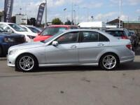 2009 Mercedes Benz C Class C180K BlueEFFICIENCY SE 4dr Auto 4 door Saloon