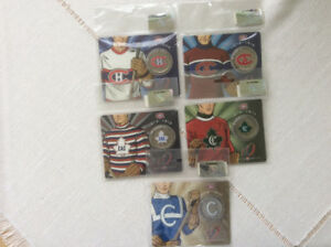 MONTREAL CANADIANS SET OF 5 SPECIAL EDITION COINS
