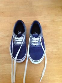 Kids Authentic VANS shoes.