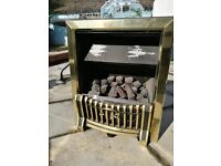Cannon Coal Effect gas fire, working when professionally removed, stored in clean dry environment.