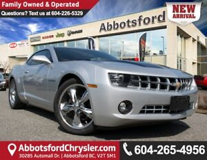 2012 Chevrolet Camaro 1LT ACCIDENT FREE!