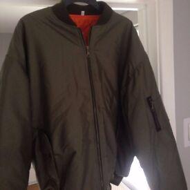 bomber type jacket