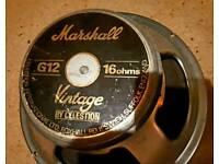 Marshall g12 speakers