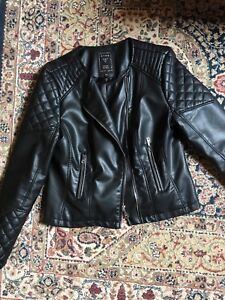 Women's Faux Leather Guess Jacket