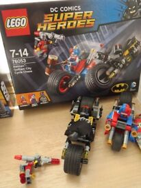 Lego 76053 Batman Gotham City Cycle Chase Box and Instructions Complete
