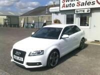2012 AUDI A3 TDI S LINE SPECIAL EDITION 2L - 61,840 MILES - FULL SERVICE HISTORY