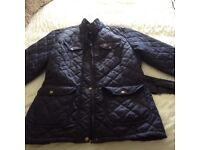 Navy blue hunter style jacket