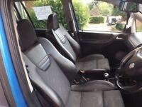Vauxhall zafira gsi Turbo ARDEN BLUE swap fiesta st or cash