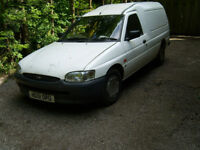ford escort van long mot