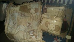 7 pieces Cocola crib bedding set