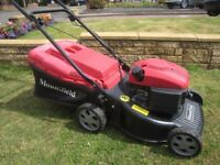 Mountfield HP474 Petrol LawnMower fitted With SV150 Engine Fully Serviced 45cm Cutting Width