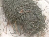FENCING IDEAL FOR HENS DUCKS AND MORE 3 ROLL £20 EACH