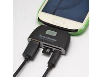 4 in 1 OTG TF SD Card Reader Micro USB Port