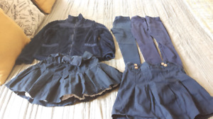 Girls uniform items