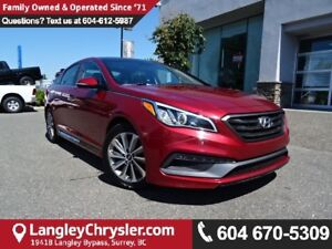 2016 Hyundai Sonata Sport Tech *ACCIDENT FREE * DEALER INSPEC...
