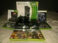 Xbox 360 Slim 250gb 6 Games