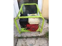 Pramac Honda petrol generator 110v 240v site