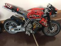 Lego Technic 8051 Rare 2 in 1 Motorcycle