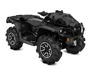 2017 Can-Am Outlander X mr 1000R Triple black