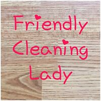 Friendly Cleaning Lady