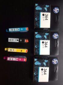 HP 364 Printer Ink - 4x Black, 2x Yellow, 1x Blue, 1x Pink