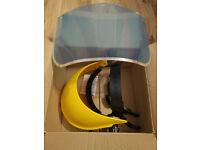 FULL FACE SAFETY VISOR (BRAND NEW BOXED)
