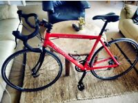 Carrera Virtuoso Road Bike, Shimano gears. Used but excellent condition. Recent service.