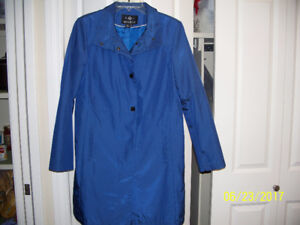 ROYAL BLUE DRESS COAT
