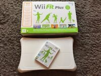 Nintendo Wii Fit Board and Game