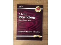 Used AQA A-Level Psychology: complete revision guide and practice (full 2 years)