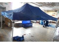 instant pop up shelter 4.5mt x 3mt used suit market trader