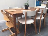 Walnut Dining Table 6 seats 'Made . com' brand RRP £349