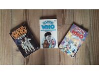 Doctor who / Patrick Troughton book collection
