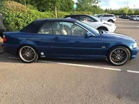 BMW 320ci convertible with new 1 year mot