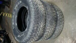 3 used Terra Trac tires