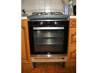 Electric Stainless Steel Fan Assisted Oven, Large Capacity 82 Ltr, BEKO