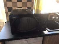 Delonghi Black Gloss Microwave