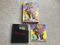 Nintendo NES game Stunt Kids