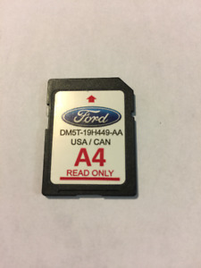 Used - Ford A4 GPS SD Card
